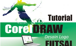 membuat desain logo futsal dengan coreldraw x7