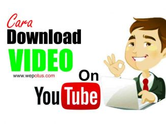 Cara download video lewat youtube