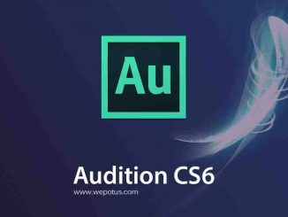 Download Adobe Audition CS6 Portable