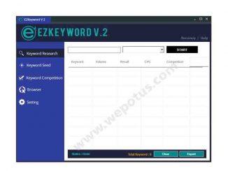 Cara Riset Keyword di EzKeyword Part 1