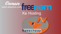 Cara menghubungkan domain freenom ke cpanel hosting namecheap