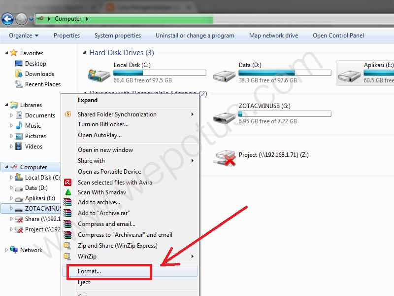 Cara Mengembalikan USB Bootable menjadi Flashdisk Biasa