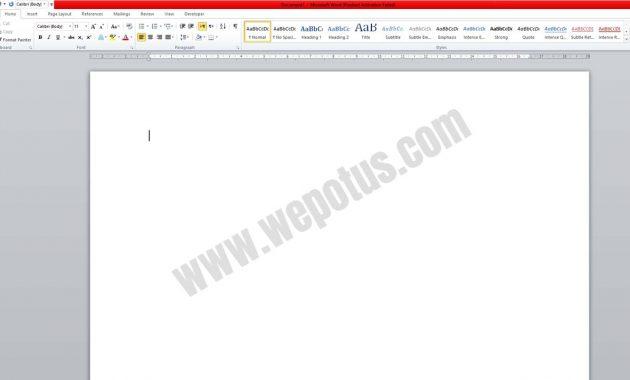 Cara Membuat Tabel di Microsoft Word 2010