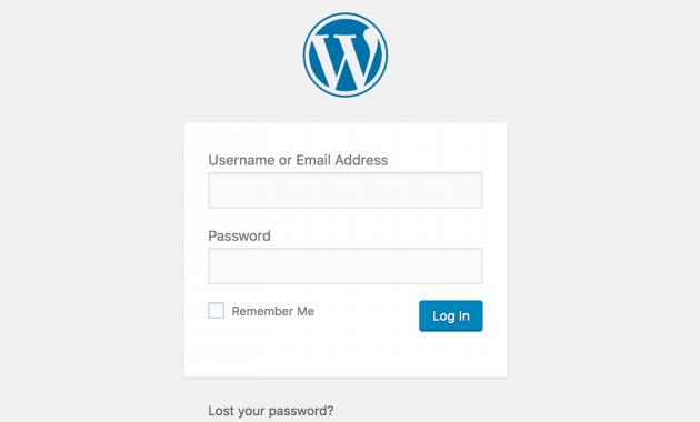 Cara Mengganti Password WordPress Yg Mudah dan Cepat