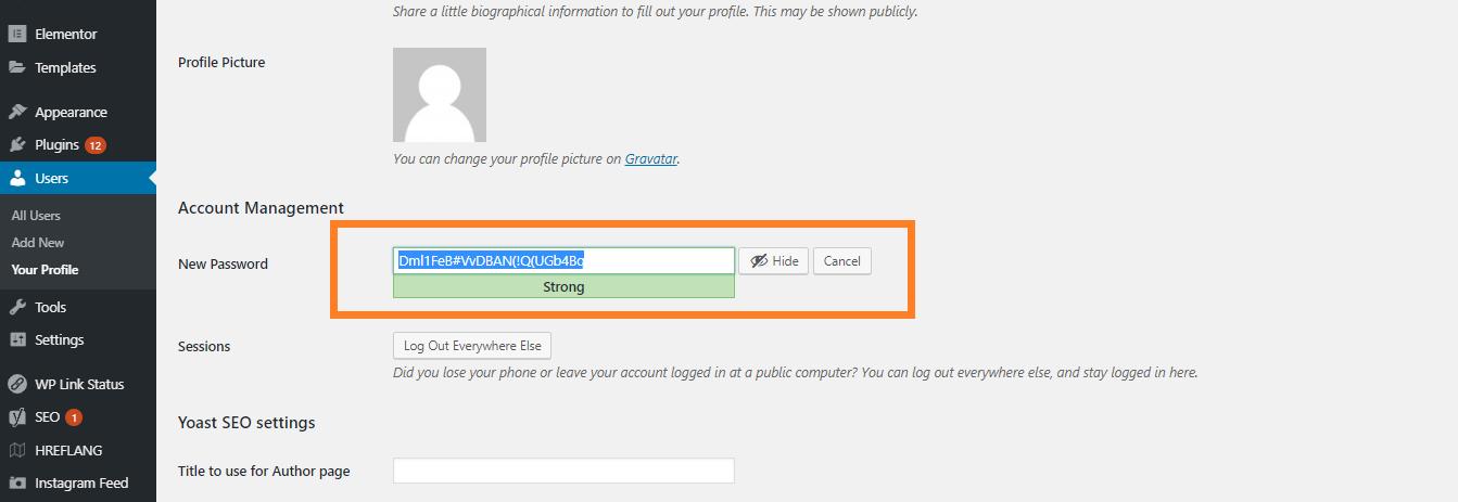Cara Mengganti Password WordPress
