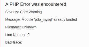 Menghilangkan Warning Message Module already loaded pada CodeIgniter