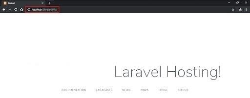 cara upload laravel di subdomain hosting